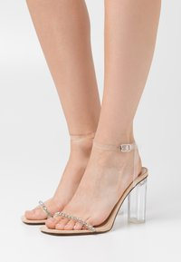 BEBO - LINNIE - Sandals - clear/nude - 0