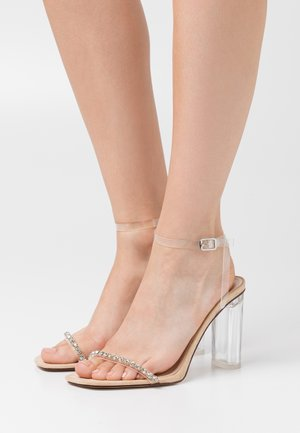 LINNIE - Sandals - clear/nude