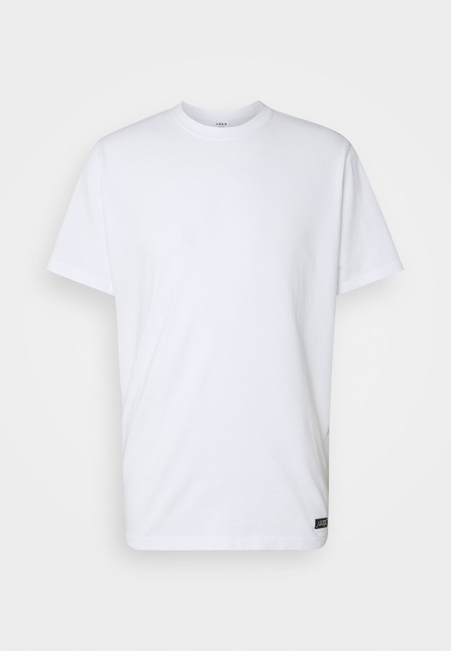 BOX LOGO TEE - T-shirt basic - white