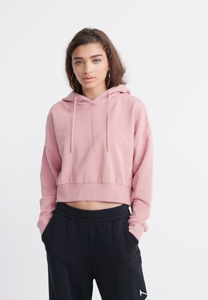 Sweat à capuche - soft pink