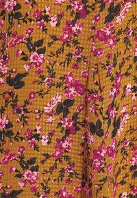 Vero Moda - VMVILDE CALF DRESS - Day dress - buckthorn brown - 5