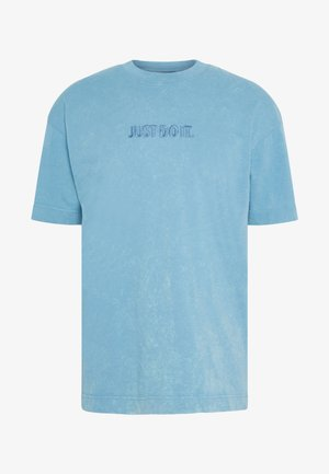 T-shirts med print - light blue