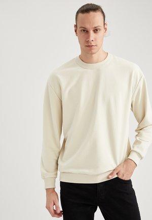 OVERSIZED - Sweatshirt - beige