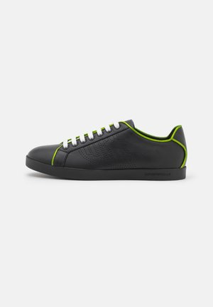 FANCY  - Trainers - black/green