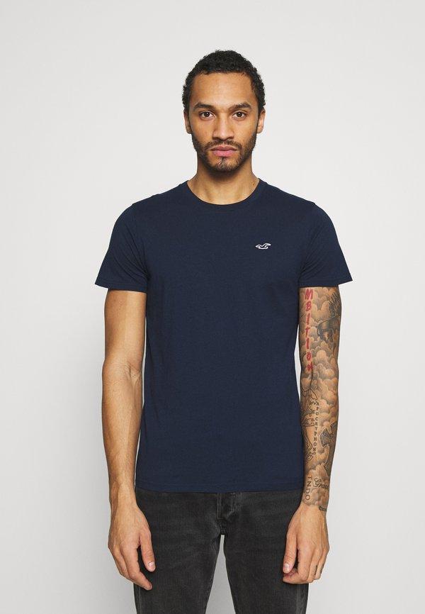Hollister Co. CREW 7 PACK - T-shirt basic - white/black/grey siro/navy/czarny Odzież Męska OYHM