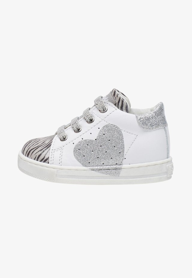 Baby shoes - silver