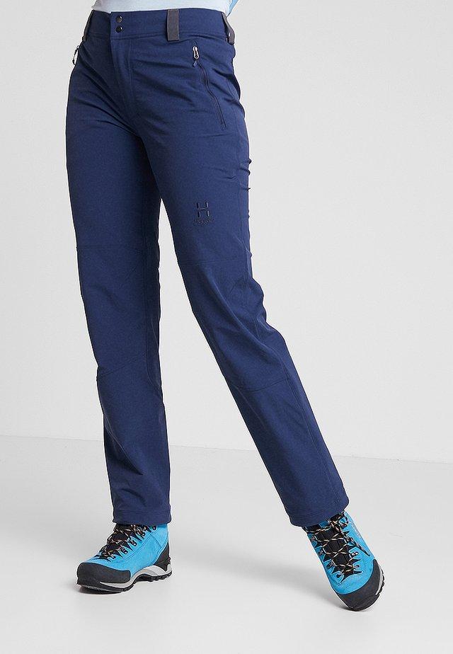 MORÄN PANT WOMEN - Outdoor trousers - tarn blue