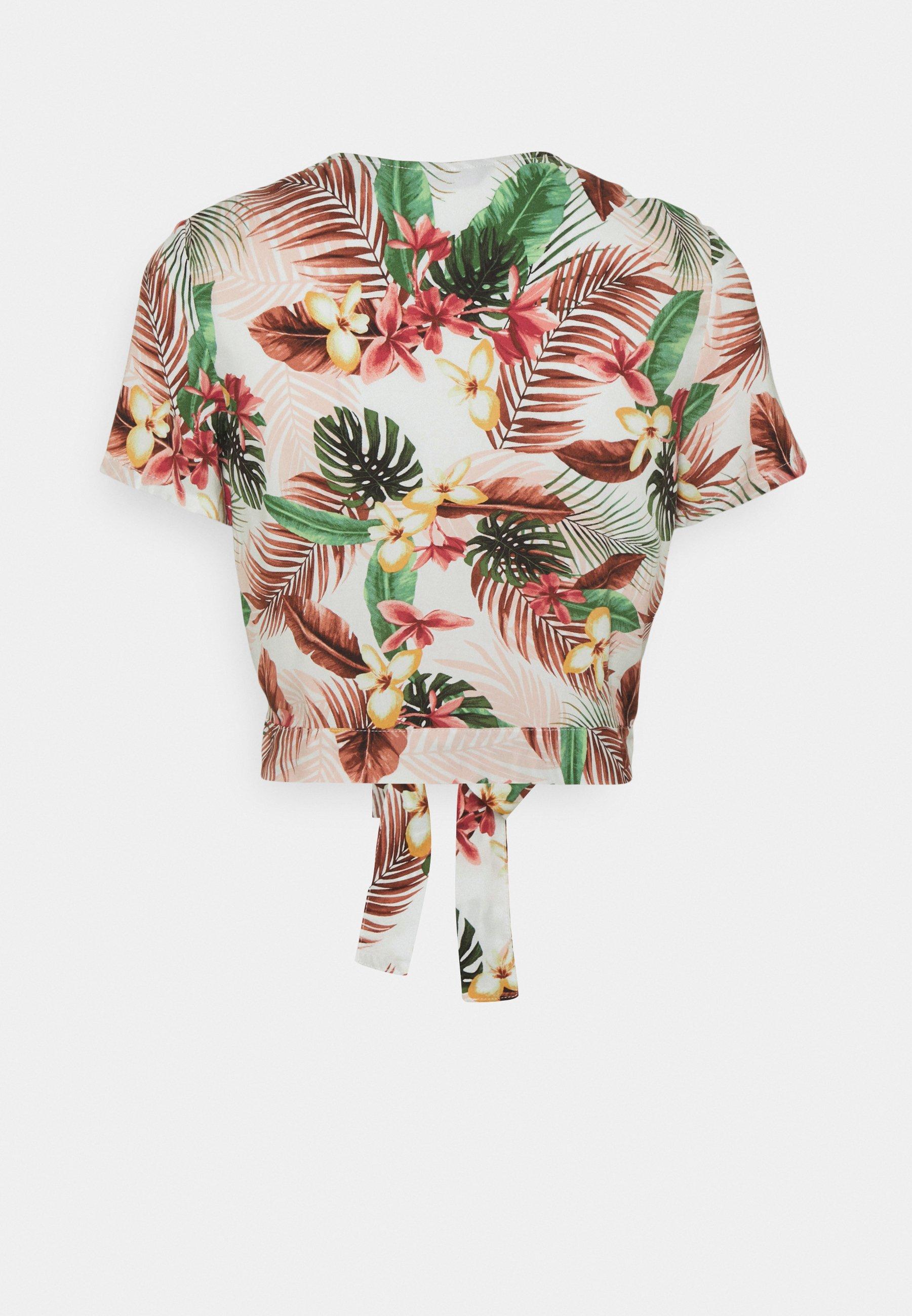 Femme VMSIMPLY EASY TIETOP - T-shirt imprimé