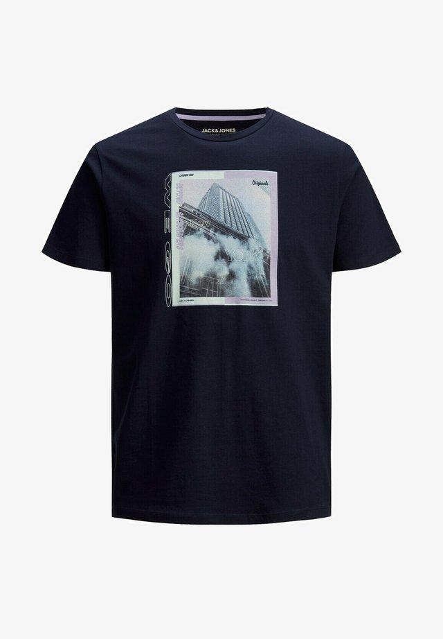 JORALLROUND - T-shirts print - navy blazer
