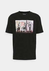 Nominal - BANKSY  - Print T-shirt - black - 0