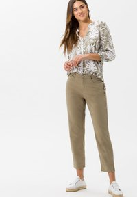 BRAX - STYLE MARY S - Slim fit jeans - khaki - 1