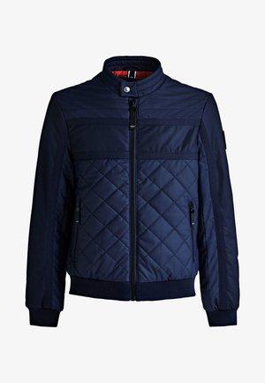 BLOCKING  - Bomber Jacket - blue