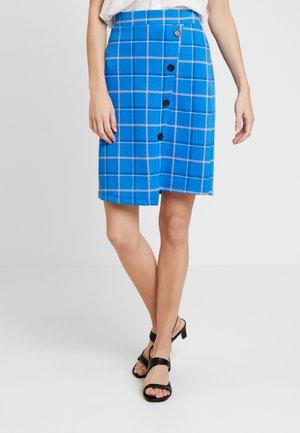 Pouzdrová sukně - cobalt blue
