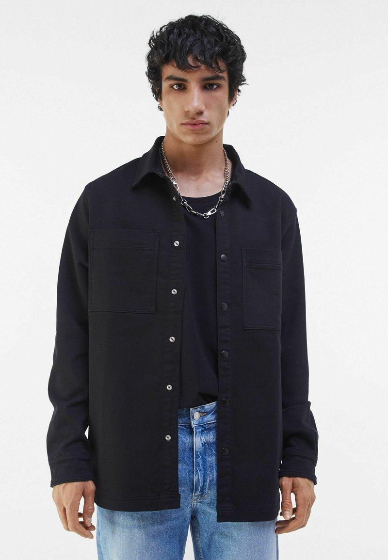 Bershka - Summer jacket - black