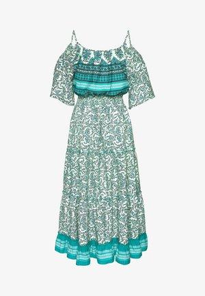 Maxi dress - grün-bedruckt