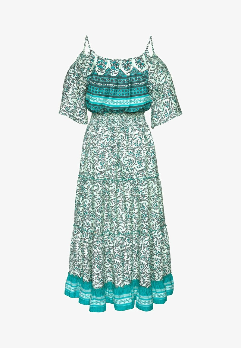 LASCANA - Maxi dress - grün-bedruckt