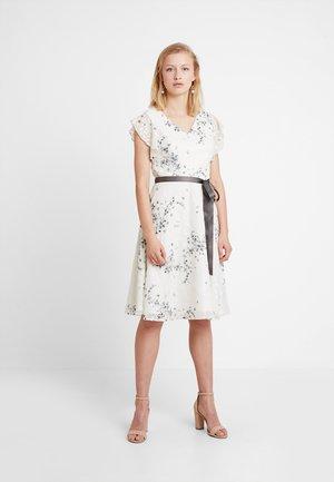 Vestito elegante - cremeweiss/schwarz