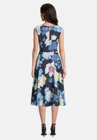 Vera Mont - MIT PRINT - Day dress - dark blue/yellow - 1