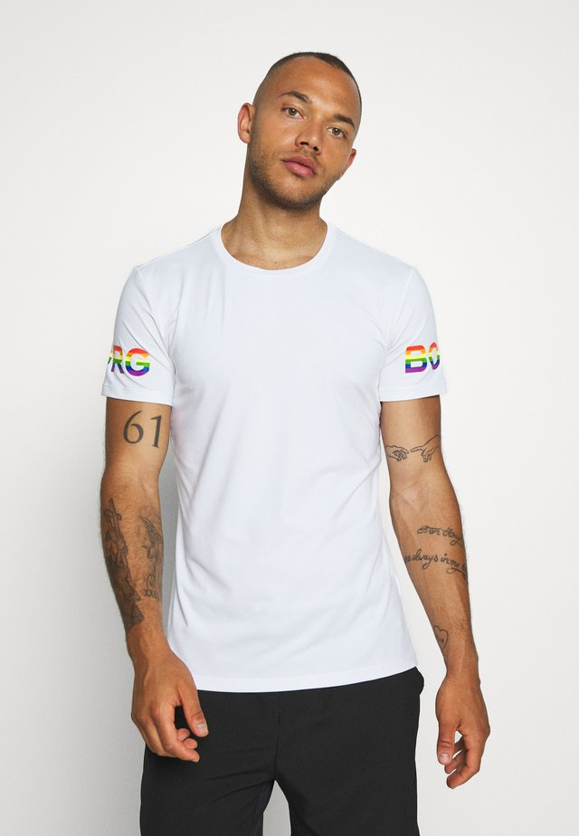 TEE - T-shirt imprimé - white/multi