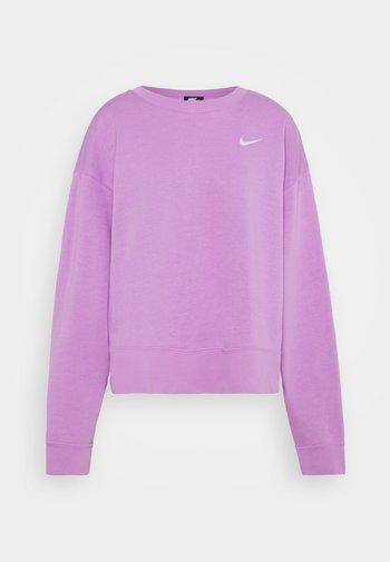 CREW TREND - Sweatshirt - violet shock/white