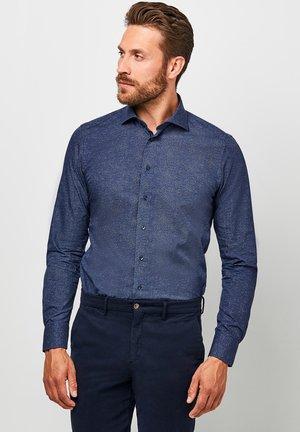 SLIM FIT  - Formal shirt - navy