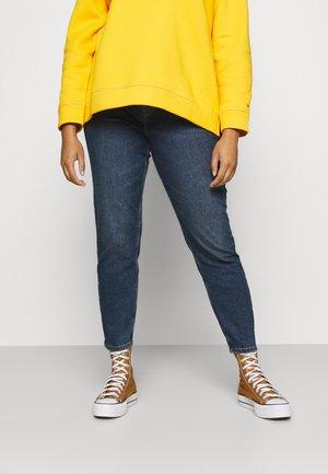 PCKESIA MOM - Straight leg jeans - dark blue denim
