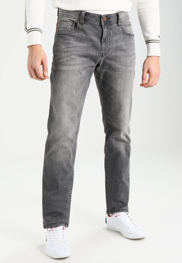 HOUSTON - Straight leg jeans - grey