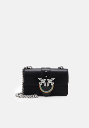 LOVE MINI ICON JEWEL - Across body bag - black
