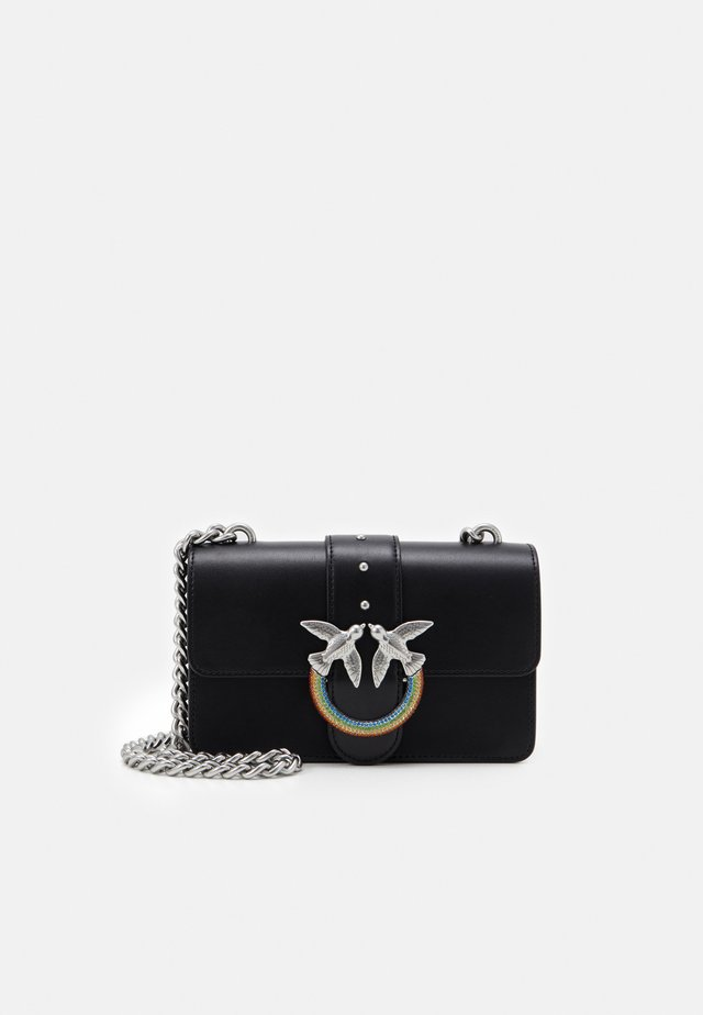 LOVE MINI ICON JEWEL - Across body bag - black
