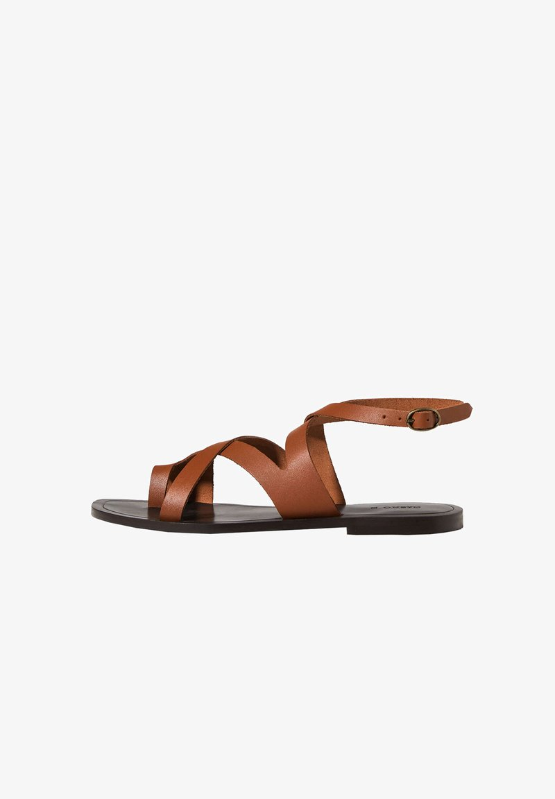 OYSHO - Sandals - brown