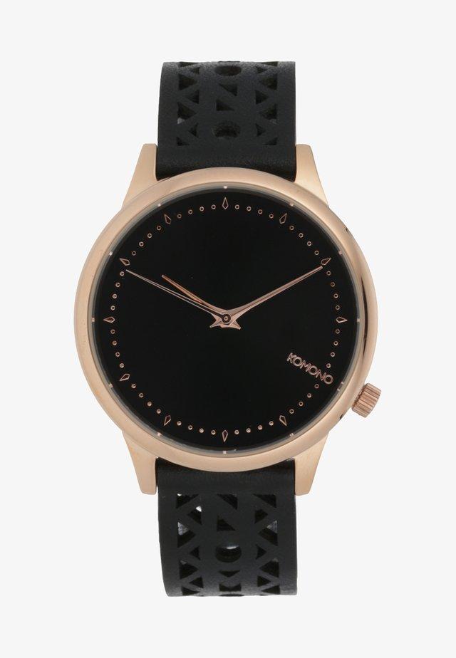 ESTELLE - Watch - roségold/schwarz
