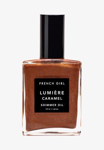 SHIMMER OIL - Body oil - lumière caramel