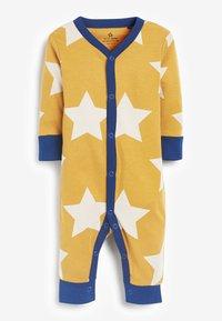 Next - 3 PACK COLOURBLOCK FOOTLESS SLEEPSUITS - Sleep suit - blue - 1