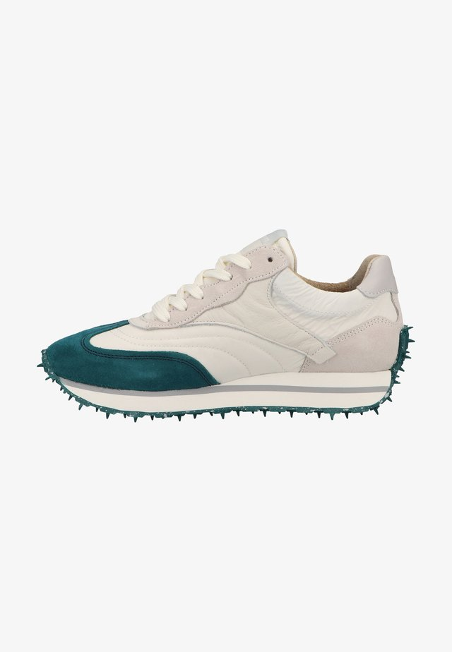 Sneakers laag - teal/off white/grey