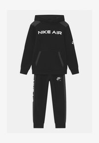 Nike Sportswear - AIR SET - Tepláková souprava - black - 0