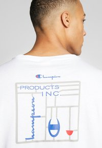 Champion Reverse Weave - CREWNECK - T-shirt con stampa - white - 5