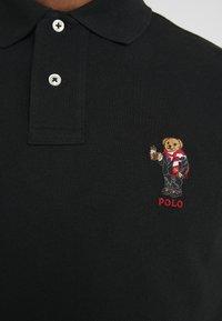 Polo Ralph Lauren - BASIC CUSTOM SLIM FIT - Polo shirt - black - 5