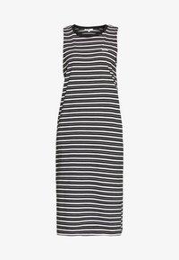 Vans - MINI CHECK MIDI DRESS - Korte jurk - black - 4