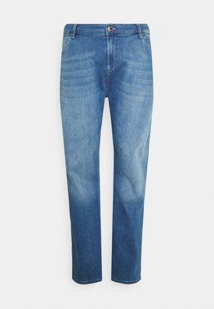 SHIELD - Zúžené džíny - blue denim
