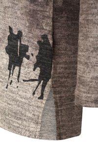 DORIS STREICH - MIT PRINT - Sweatshirt - stein - 2