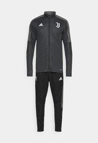 adidas Performance - JUVENTUS TURIN SUIT - Fanartikel - carbon/black - 6