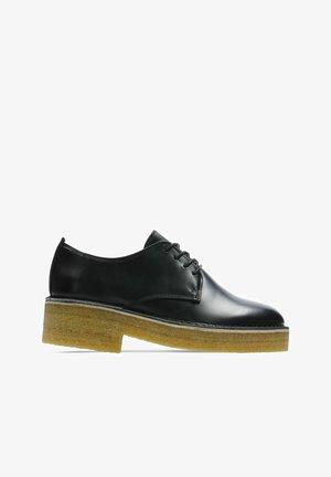 MARU LONDON - Zapatos de vestir - black polished