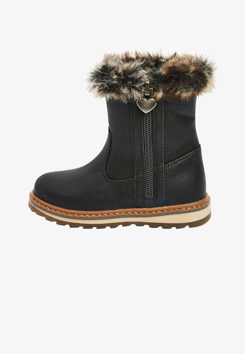 Next - Kotníková obuv - black