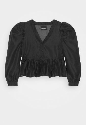 PCPAULA - Blouse - black