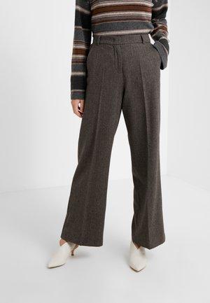 CALAIS - Pantalones - dunkelbraun
