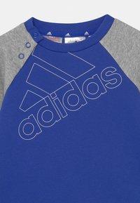 adidas Performance - SET UNISEX - Tracksuit - bold blue/white/medium grey heather - 3