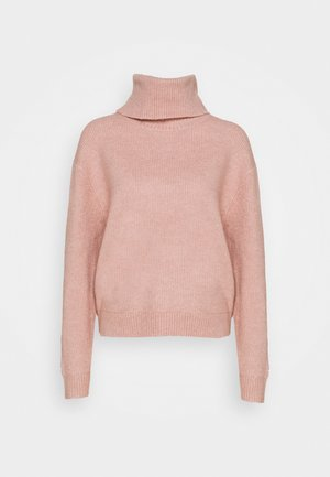NEW COWL JUMPER - Jumper - pink