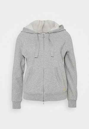 FULL ZIP HOODIE - Zip-up hoodie - grey melange