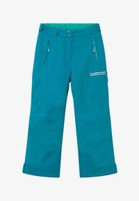 TrollKids - KIDS HALLINGDAL - Snow pants - light petrol/dark mint - 3