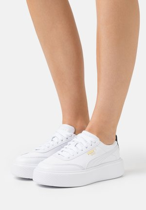 OSLO MAJA  - Trainers - white/black
